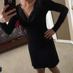 Marciano dress Black long sleeve Marciano dress xs never worn Marciano Dresses