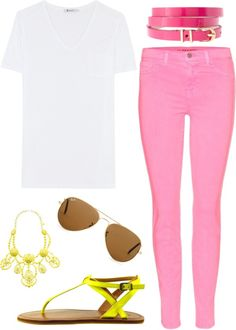 """candy pink jeans 