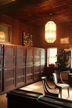Tack Room lockers in the main Shaker Barn (4638)