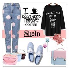 """""""SHEIN CONTEST"""" by e-mina-87 ❤ liked on Polyvore featuring Topshop, Therapy, La Cartella, Keds, women's clothing, women's fashion, women, female, woman and misses"""