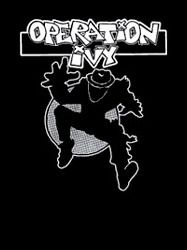 Operation Ivy - ska man shirt