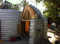 Earthbag home