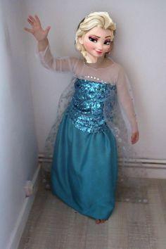 Patron robe reine des neiges 10 ans