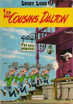 Lucky Luke -12- Les cousins Dalton  -  1958