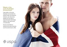 Uspa skin hair and body products are made in the pure Australian environment.