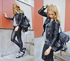WE WILL ROCK YOU (by Frida Johnson) http://lookbook.nu/look/3999294-WE-WILL-ROCK-YOU    Tina Hi-Tops:  http://iclothing.ie/tina-high-top-wedge-in-brown-and-white