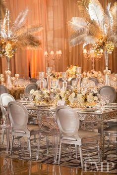 ABC trend setter awards. Decor and florals by Square Root Designs.