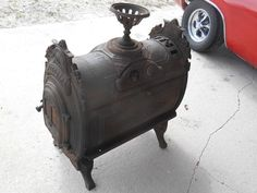 ANTIQUE 1876 CULTER & PROCTOR PEORIA,CAST IRON PARLOR WOOD FIRE PLACE COOK STOVE | Antiques, Home & Hearth, Stoves | eBay!