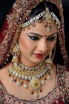 Beautiful Girl In India, Beautiful Blonde Girl, Beautiful Asian Girls, Beautiful Bride, Indian Wedding Bride, Indian Wedding Makeup, Wedding Couples, Beautiful Bollywood Actress, Most Beautiful Indian Actress