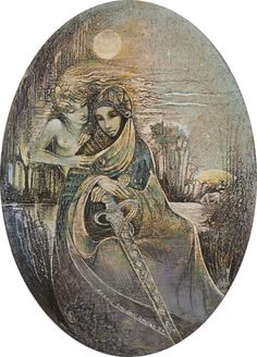 """The Beautiful Merciless Lady"" par Susan Seddon Boulet"