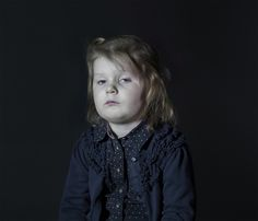 Creepy Pictures of Kids Watching TV