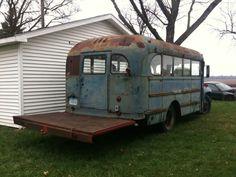 1950 ford school bus - Google Search