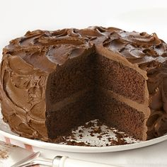 Learn to make Ultimate Chocolate Cake. Read these easy to follow recipe instructions and enjoy Ultimate Chocolate Cake today!
