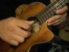 3 finger roll ukulele picking technique