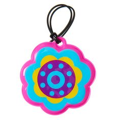 B2s Bag Tag from Smiggle - flower