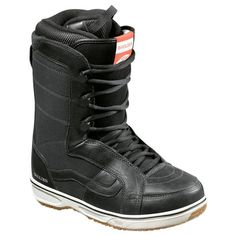 VANS HOLDEN SNOWBOARD BOOTS 2012 IN BLACK Great all mountain snowboard boot with soft flex for anyone from beginner to professional snowboarder. The Holden boot is like a premium upgrade of the Hi-Standard Boot. Leather throughout for a sleek street style and ultimate performance construction. Finished with 80/20 DWR finish to keep the surface clean and dry. #snowboard #snowboardboots #vansholdensnowboardboots #colourblack