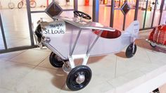 70 vintage pedal cars lead to record sale of automobilia collectibles : of the items which went to new homes during that four day period. Wooden Cribs, New York To Paris, Super Snake, Porsche 356 Speedster, Car Jokes, Carroll Shelby, Pontiac Bonneville, Vintage Porsche, Pedal Cars