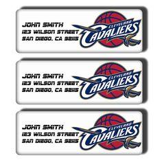 Cleveland Cavaliers NBA Basketball Team  Custom by DreamLabels, $5.00