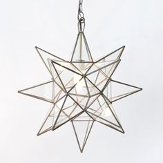 Worlds Away Clear Star Chandelier Large. #laylagrayce