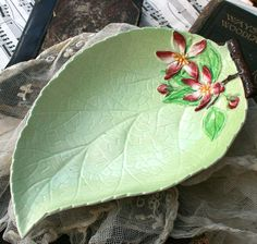 1930's Carltonware England Apple Blossom by youruniquescrapbook,