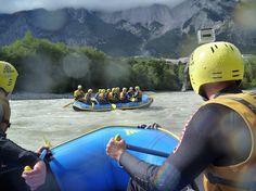 #Rafting Tour von guiders.de auf der #Imst #Tirol