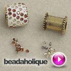 Tutorial - Videos: How To Use Nunn Design Bead Cores to Make a Crystal Pave Bead | Beadaholique