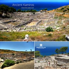 Visit the Ancient Kamiros.. Kamiros was one of the most powerful towns in Rodos along with Lindos and Ialyssos. It was founded by the Dorians and has been destroyed two times by earthquakes.. If you love ancient hisory and archaeological areas, do not miss visiting!  www.rodos-palace.com