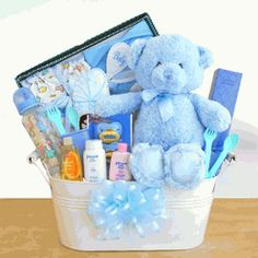 50bb9076b6f New Arrival Baby Boy Gift Basket Cute Baby Gifts