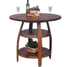 Wine Barrel Project Table