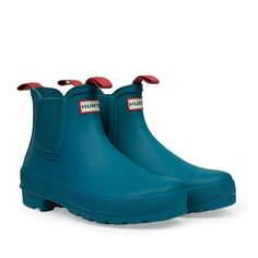 Shop up to off our collection of iconic Hunter rain boots for women, men and kids. Red Rain Boots, Hunter Rain Boots, Chelsea Boots Outfit, Wellington Boot, Kids Boots, Clarks, Ankle Boots, Shoes, Hunter Original