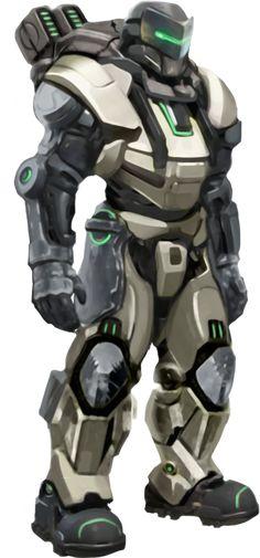 Powered Combat Armor — WOINGEAR
