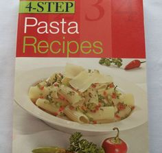 4-Step Pasta Recipes 2002 PB (91914-1142) cookbook