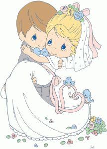Silhouette Design Store - View Design #79821: bride and groom