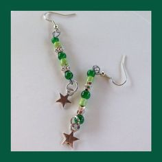 Evergreen & Stars by MarlenesCraftHouse on Etsy