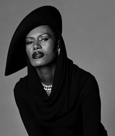 Grace Jones - Jamaican / American Icon / Groundbreaking / Model / Actress / Singer.
