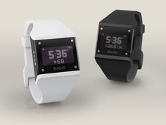 Basis band senses heart rate, movement, temperature and galvanic skin response.