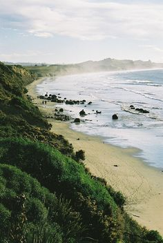 Moeraki Boulders, Hampden, South Island, New Zealand, by Catlin Coast on Flickr.