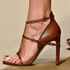 Shoespie Coffee Strappy Sandals