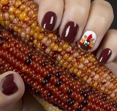 Thanksgiving Nail Art is the Funniest and Most Amazing New Beauty Trend  - http://Seventeen.com