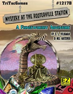 Mystery At The Rooterville Station is an all-new expansion module for Richard Tucholka's Fringeworthy RPG. Unusual items, including contraband and crystals, ar Trading Post, Playing Games, The Expanse, The Locals, Board Games, Mystery, Crystals, Rpg, Role Playing Board Games
