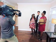 Check out these #BehindTheScenes shots from tonight's episode of #HouseHunters on #HGTV at 10pm | 9c!  #pietowntv #setlife #set #realitytv #show #television #obsessed #househunting #realtor #musicians #rehearsalspace #takomapark #maryland