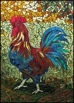 ideas for mosaic flowers vase Mosaic Crafts, Mosaic Projects, Stained Glass Projects, Stained Glass Patterns, Mosaic Patterns, Stained Glass Art, Mosaic Ideas, Mosaic Animals, Mosaic Birds
