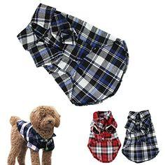 CXB1983(TM)Cute Pet Dog Puppy Clothes Shirt Size XS/S/M/L Blue Red Color (L, Blue) CXB1983(TM) http://www.amazon.com/dp/B00PJW5OPK/ref=cm_sw_r_pi_dp_FQXUub1PZC6G2