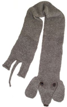 Dachshund scarf - knit-kit by Morehouse