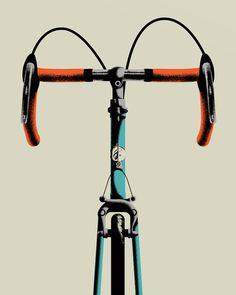 Bike Portrait 3 Art Print