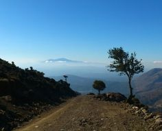 View to Psiloritis from Omalos Plateau