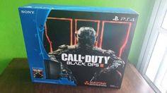 Vendo Consola Ps4 Nueva Sellada. Precio $500 Fijos. Ultima Edición Call of Duty Black Ops III. Contiene: Mando inalámbrico DualShock4. 500GB. JET BLACK CUH -1215A. Su Juego Físico y Mapas. A...