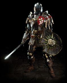 Fantasy Wizard, Fantasy Armor, Fantasy Weapons, Medieval Fantasy, Empire Characters, Fantasy Characters, Warhammer Empire, Warhammer Fantasy Roleplay, Character Art