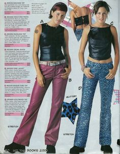 I spent hours pouring over Delia*s and Alloy, but sadly, none of their clothing came in my size. Enter Girlfriends L., which made clothing… 90s Teen Fashion, Early 2000s Fashion, Fashion Mag, Fashion Outfits, Made Clothing, Delias Clothing, Fashion Catalogue, Retro, Cool Outfits