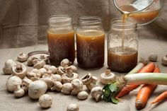 This easy mushroom broth recipe makes the perfect base for soups, stews, gravies, and risottos.